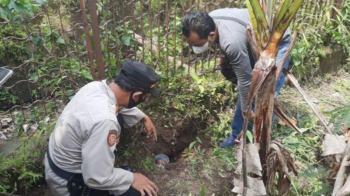 Warga Kampung Siluman Temukan Dua Granat Nanas Aktif Asyik Bersihkan Kebun dengan Cangkul